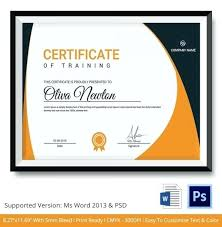 free training completion certificate templates training certificate template free course completion certificate
