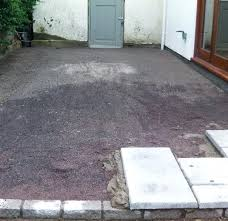 patio pavers over concrete. How To Lay A Patio Step 3 Laying Pavers Over Concrete