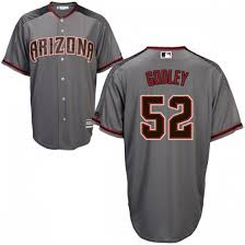 No Gray Godley Jersey Arizona Base Cool 52 Zack Replica Majestic Diamondbacks - brick