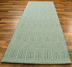 teal and green runner rug designs