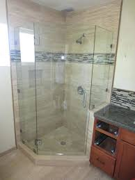 neo angle frameless shower doors angle 3 8 inch glass shower enclosure neo angle frameless shower