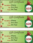 Printable Christmas Certificates Christmas Certificates Free Printable Certificates