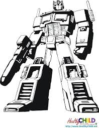Transformers Coloring Page Transformer Pages To Print Animated