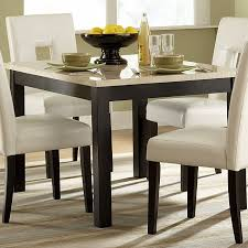 archstone dinette with 48 inch table and white chairs
