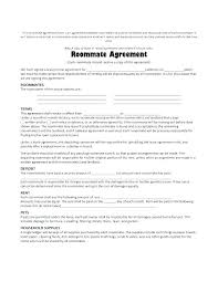 House Rules For Roommates Template Rental House Rules Agreement 8 Sample Roommate Agreements