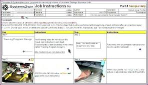 Step By Step Instruction Template Content Uploads Process I How To Write Work Instructions