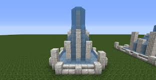 Minecraft Water Fountain Designs Fountain Fountain Fountain Minecraft Fountain Designs For