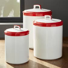 canisters glamorous red glass canister set vintage canister sets red and white kitchen canisters