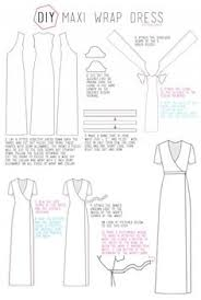 Wrap Dress Pattern Extraordinary 48 Best Wrap Dress Patterns Images On Pinterest Wrap Dress