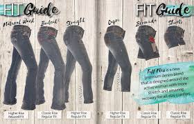 Cowgirl Up Jeans Size Chart Cowgirl Tuff Fit Guide Cutting Edge Cowgirl Company