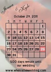 Calendar Countdown Days Wedding Countdown Calendar Examples
