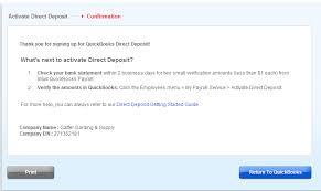 Direct Deposit Verification How To Use Direct Deposit In Quickbooks Merchant Maverick