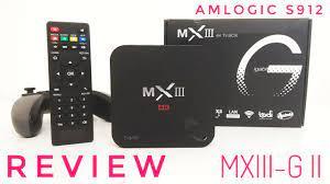 MXIII-G II TV Box REVIEW - S912, 2GB RAM, 16GB ROM - My new Favourite TV Box  - YouTube