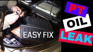 Pt Cruiser Oil Light Comes On Common Chrysler Pt Cruiser Oil Leak With A Simple Diy Fix