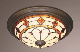 tiffany flush ceiling lights uk. diamonds and jewels tiffany flush ceiling light lights uk p