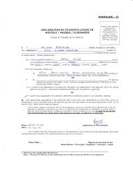 Certificate Of Residence Format