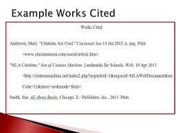 Ppt Mla Citation Powerpoint Presentation Id2830815