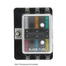 12v fuse box 1 power in 6 way blade fuse box holder for car boat marine 12v 24v c2t3