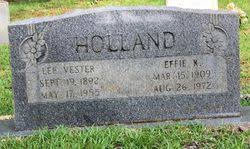 Effie Childress Holland (1910-1972) - Find A Grave Memorial