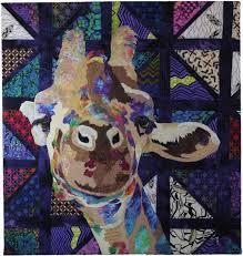 98 best portrait quilts images on Pinterest | Quilt art, Art ... & Candy by Barbara Yates Beasley, giraffe Adamdwight.com