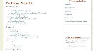 the best job sites for writers lance writing job sites