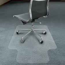 chair mat with lip. Chair Mat With Lip For Carpet Floors (transparent) L