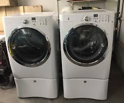 electrolux washer and dryer. Top Of Line Electrolux White Iq Touch Front Load Washer Dryer And C