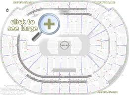 Key Arena Detailed Seating Chart Bb T Center Seat Row Numbers Detailed Seating Chart