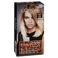 l oreal paris preference permanent hair colour no4 wild ombre intense fade