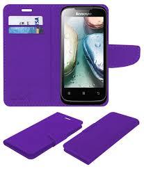 Lenovo A369i Flip Cover by ACM - Purple ...