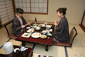 These are sometimes served in the guest's room at a low table, with comfy  cushions. Japanese Floor Dining ...