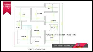 1300 sq ft kerala house plans free for low budget home makers