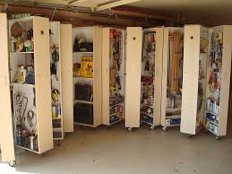 home organizing project rolling garage cabinets