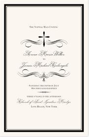 Wedding Ceremony Program Cover Catholic Wedding Programs Catholic Wedding Ceremony Programs