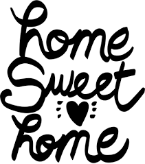 Small Picture Home Sweet Home Text Sticker TenStickers