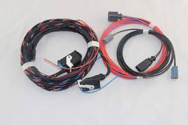 popular rear wiring harness buy cheap rear wiring harness lots original for vw emblem flip rear view reversing camera rvc connect wiring harness for golf 6