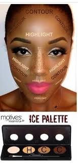 contour for black skin more
