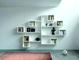 white shelving unit for wall perfect white wooden wall shelves for books near red rug living