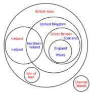 British Isles Venn Diagram One Life One God One Faith British Isles Terminology