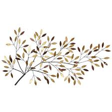 blooming tree branch wall d cor trees leaves metal wall art on metal wall art trees and branches with blooming tree branch wall decor metal art jcpenney