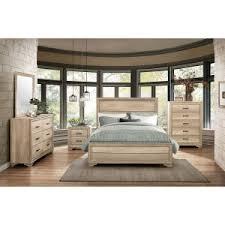 king bedroom sets. Mazin Lonan Light Elm Queen Bedroom Set 1955Q King Sets