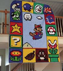 One of a kind Super Mario quilt - Album on Imgur & One of a kind Super Mario quilt Adamdwight.com