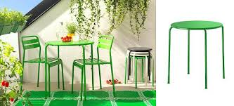 metal patio chairs ikea. view in gallery roxo dining table and chairs from ikea green metal outdoor patio i