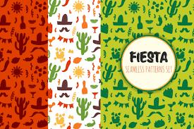 Mexican Pattern Enchanting Mexican Patterns Set By Hala Design Bundles