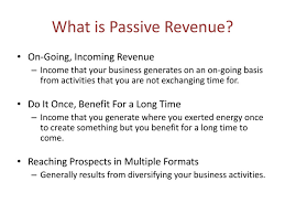 great passive revenue options for nurses org passiverevenue