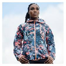 NEW BALANCE Printed <b>Accelerate Windcheater</b> - Women's Hooded ...