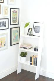 bookcases diy ladder bookcase last chance ladder shelf perfect for small spaces home design focus