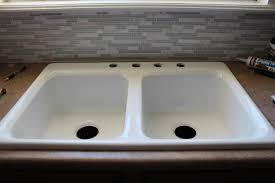 Small Double Kitchen Sinks Kitchen Double Kitchen Sink Intended For Delightful Small Double