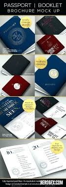 Passport Booklet Template Passport Booklet Template Photo Realistic Mock Up Word Game