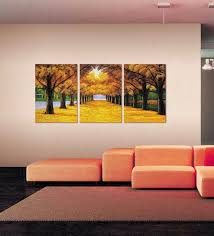 canvas 18 x 24 inch autumn tree way framed digital art print set of 3 on autumn tree set of 3 framed wall art prints with buy wall skin canvas 18 x 24 inch autumn tree way framed digital art